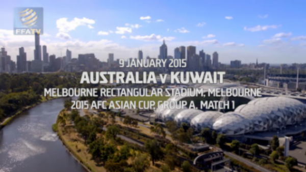 The Socceroos and Kuwait opened the 2015 AFC Asian Cup in Melbourne on Friday night.