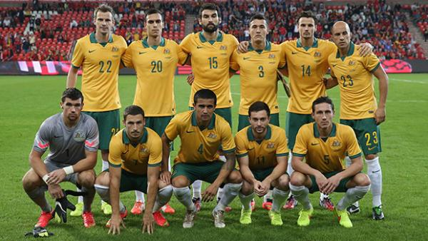 The Socceroos starting XI for the friendly against Belgium.