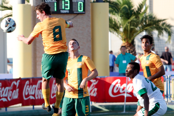 Young Socceroos get first COTIF win