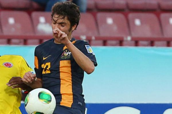 Young Socceroos hold Colombia