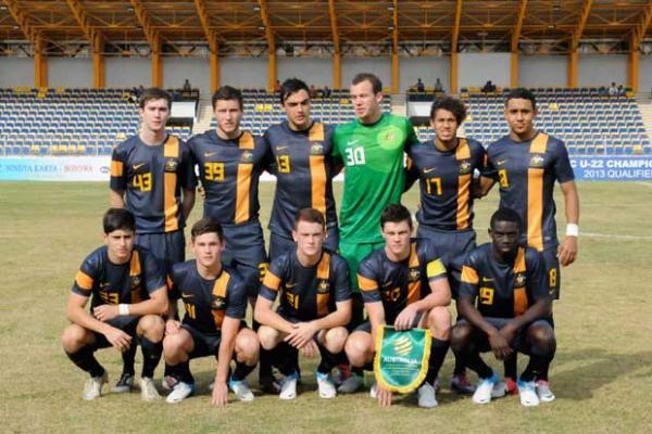 Qantas Young Socceroos down Macau
