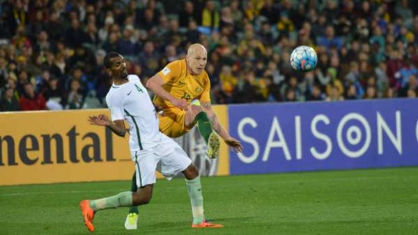 Caltex Socceroo playmaker Aaron Mooy was delighted that Australia have closed the gap at the top of their World Cup qualification group.