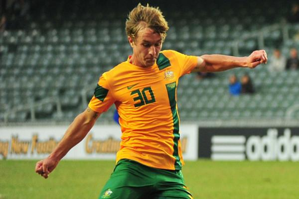 Taggart treble lifts Young Socceroos to victory