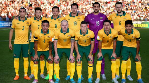 The Socceroos starting XI for their  FIFA World Cup qualifying clash against Tajikistan.