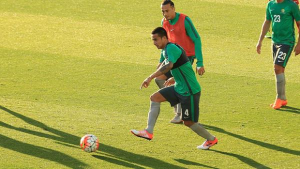 Tim Cahill will lead the Socceroos against Bangladesh in Perth on Thursday night.