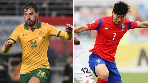 Socceroo midfielder James Troisi and Korean attacker Son Heung-min are likely to be key in Saturday's clash.