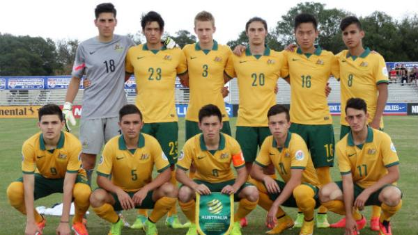The Joeys starting XI against England.