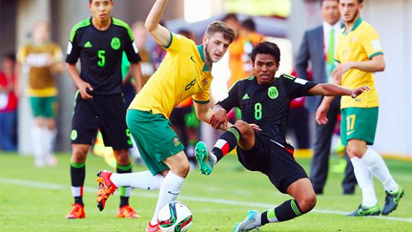 Joey Jake Brimmer rides a challenge against Mexico