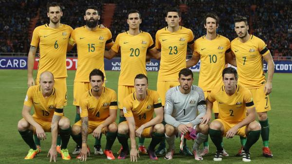 The Caltex Socceroos starting XI against Thailand ahead of kick-off.
