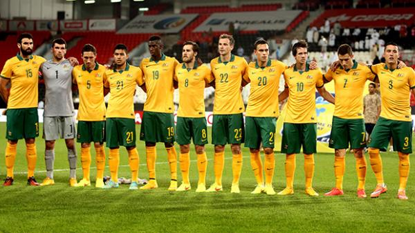 The Socceroos starting XI that played the UAE in game number 499.