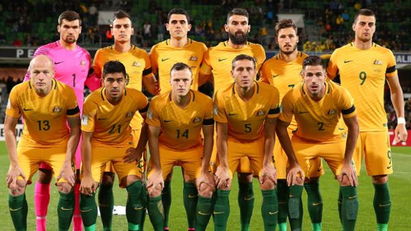 The Socceroos starting XI which defeated Iraq in the opening World Cup Qualifier.