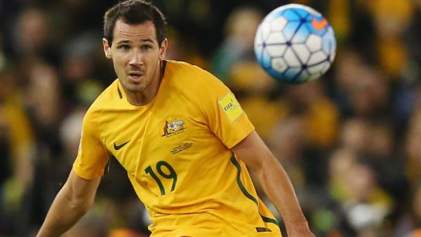 Ryan McGowan was a late call-up for Australia's World Cup Qualifier against Saudi Arabia.