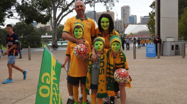 Socceroos fans gallery.