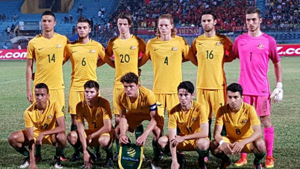 The Young Socceroos are into the AFF U-19 Final in Vietnam.