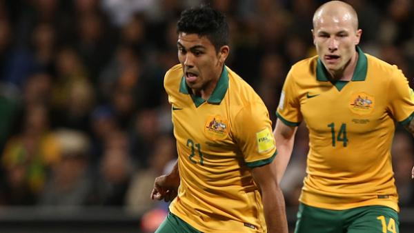 Massimo Luongo says his partnership with Aaron Mooy is getting stronger with each game.
