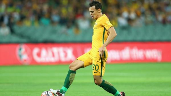 Caltex Socceroos defender Trent Sainsbury.